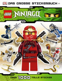 Coverbild LEGO Ninjago Das große Stickerbuch, 9783831020621