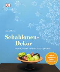 Coverbild Schablonen-Dekor von Helen Morris, 9783831022175