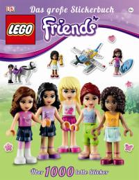 Coverbild LEGO® Friends Das große Stickerbuch, 9783831023189