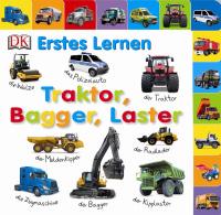 Coverbild Erstes Lernen. Traktor, Bagger, Laster, 9783831025060