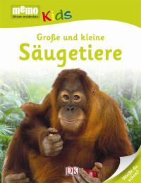 Coverbild memo Kids. Große und kleine Säugetiere, 9783831025947