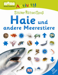 Coverbild memo Activity. Haie und andere Meerestiere, 9783831026050