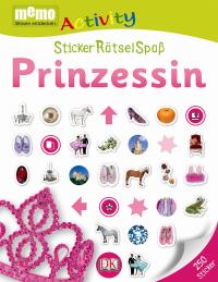 Coverbild memo Activity. Prinzessin, 9783831026074