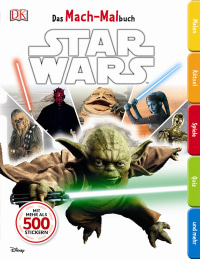 Coverbild Das Mach-Malbuch. Star Wars™, 9783831027323