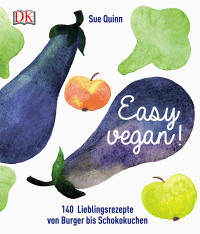 Coverbild Easy vegan von Sue Quinn, 9783831027460