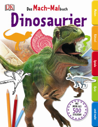 Coverbild Das Mach-Malbuch. Dinosaurier, 9783831027668