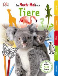 Coverbild Das Mach-Malbuch. Tiere, 9783831027675
