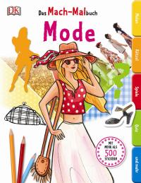 Coverbild Das Mach-Malbuch. Mode, 9783831027682