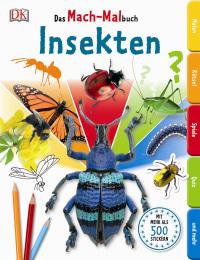 Coverbild Das Mach-Malbuch Insekten, 9783831028061