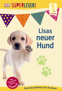 Coverbild SUPERLESER! Lisas neuer Hund, 9783831028122