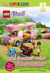 Coverbild SUPERLESER! LEGO® Friends Ein Sommer voller Abenteuer, 9783831028191