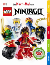 Coverbild Das Mach-Malbuch. LEGO® NINJAGO®, 9783831028702