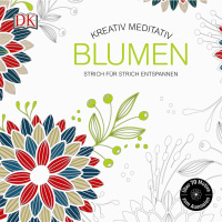 Coverbild Kreativ meditativ Blumen, 9783831029365