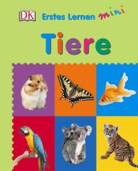 Coverbild Erstes Lernen mini. Tiere, 9783831029587