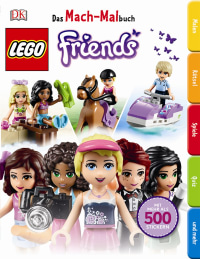 Coverbild Das Mach-Malbuch LEGO® FRIENDS, 9783831030194