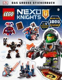 Coverbild LEGO® NEXO KNIGHTS Das große Stickerbuch, 9783831030521