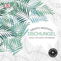 Coverbild Kreativ meditativ Dschungel, 9783831030552