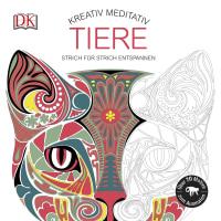 Coverbild Kreativ meditativ Tiere, 9783831030576