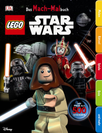 Coverbild Das Mach-Malbuch LEGO® Star Wars™, 9783831030989
