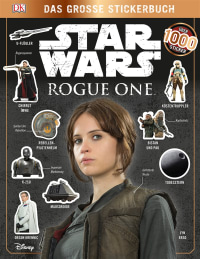 Coverbild Star Wars Rogue One™ Das große Stickerbuch, 9783831031085