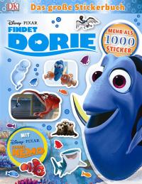 Coverbild Disney Pixar Findet Dorie Das große Stickerbuch, 9783831031108