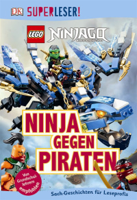 Coverbild SUPERLESER! LEGO® NINJAGO®. Ninja gegen Piraten, 9783831032471