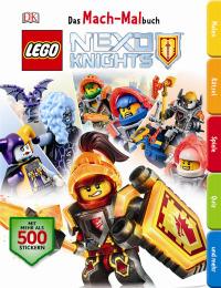 Coverbild Das Mach-Malbuch LEGO® NEXO KNIGHTS™, 9783831032518