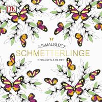 Coverbild Ausmalglück Schmetterlinge, 9783831032754