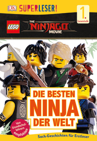 Coverbild SUPERLESER! THE LEGO® NINJAGO® MOVIE Die besten Ninja der Welt, 9783831033089