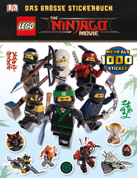Coverbild THE LEGO® NINJAGO® MOVIE Das große Stickerbuch von Julia March, 9783831033140