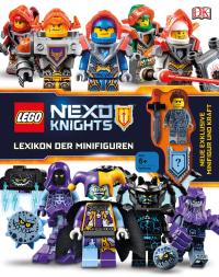 Coverbild LEGO® NEXO KNIGHTS™ Lexikon der Minifiguren von Rona Skene, 9783831033157