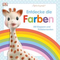 Coverbild Sophie la girafe® Entdecke die Farben, 9783831033546