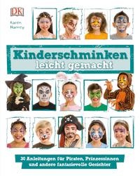 Coverbild Kinderschminken leicht gemacht von Karen Harvey, 9783831033720