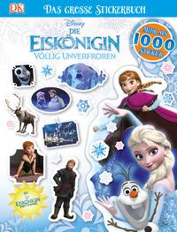 Coverbild Disney Die Eiskönigin. Das große Stickerbuch, 9783831034451