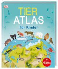 Coverbild Tier-Atlas für Kinder, 9783831034734