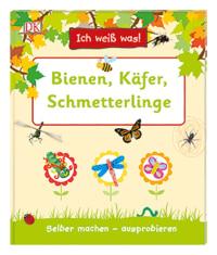 Coverbild Ich weiß was! Bienen, Käfer, Schmetterlinge, 9783831034802