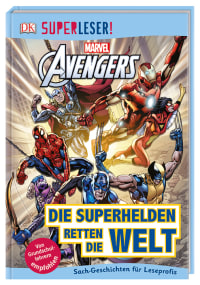 Coverbild SUPERLESER! MARVEL Avengers Die Superhelden retten die Welt von Julia March, Victoria Taylor, 9783831035229