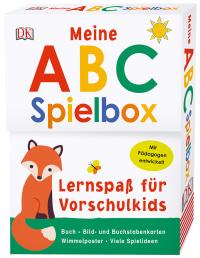 Coverbild Lernspaß für Vorschulkids. Meine ABC-Spielbox, 9783831034826