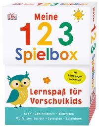 Coverbild Lernspaß für Vorschulkids. Meine 123-Spielbox, 9783831034833