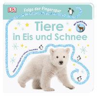Coverbild Folge der Fingerspur. Tiere in Eis und Schnee von Sandra Grimm, 9783831035762