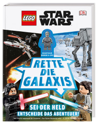 Coverbild LEGO® Star Wars™ Rette die Galaxis von Simon Hugo, 9783831035960