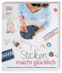 Coverbild Sticken macht glücklich von Nathalie Mornu, 9783831036080