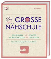 Coverbild Die große Nähschule, 9783831036240