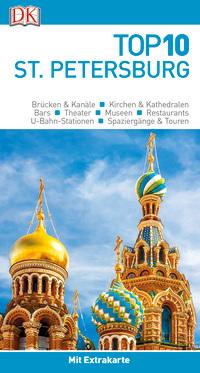 Coverbild Top 10 Reiseführer St. Petersburg, 9783734205781