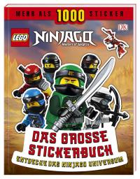 Coverbild LEGO® NINJAGO® Das große Stickerbuch von Joseph Stewart, 9783831035953