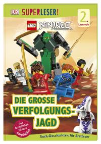 Coverbild SUPERLESER! LEGO® NINJAGO® Die große Verfolgungsjagd, 9783831036462