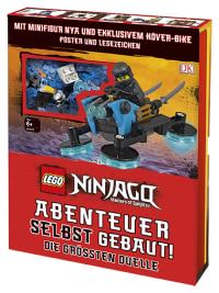 Coverbild LEGO® NINJAGO® Abenteuer selbst gebaut! Die größten Duelle von Simon Hugo, 9783831036110
