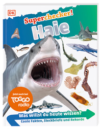 Coverbild Superchecker! Haie, 9783831036851