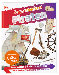 Coverbild Superchecker! Piraten, 9783831036868