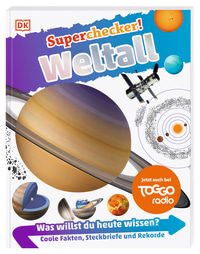 Coverbild Superchecker! Weltall von Sarah Cruddas, 9783831036882